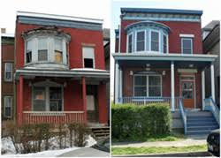 mixed use 2 story exterior